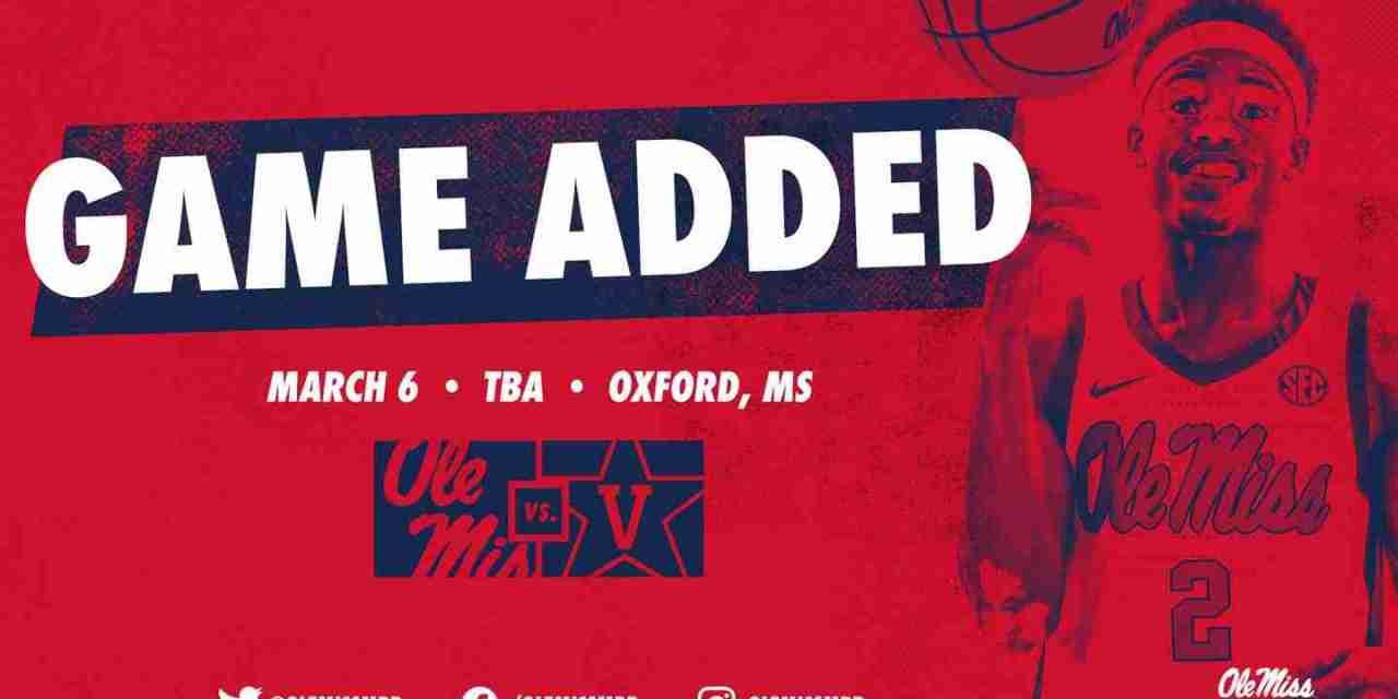 SEC Adds Vanderbilt to Rebels' Conference Schedule