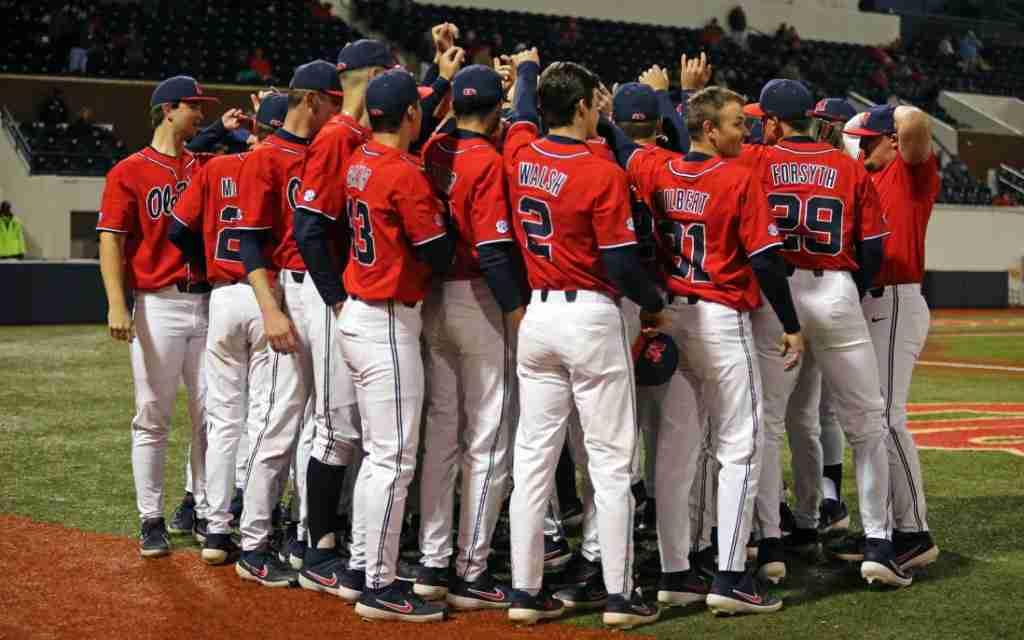 State Farm College Baseball Showdown Delayed