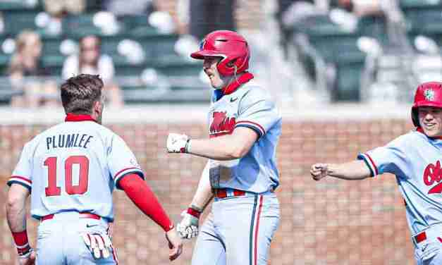 "Diamond Rebels Use ""Never Quit"" Mentality in Sweep of Alabama"
