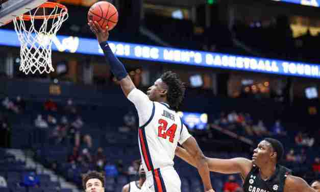 Ole Miss Takes Care of Business with 76-59 win over South Carolina in SEC Tourney