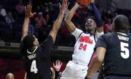 Rebels Send Seniors Off with 56-46 Win Over Vanderbilt