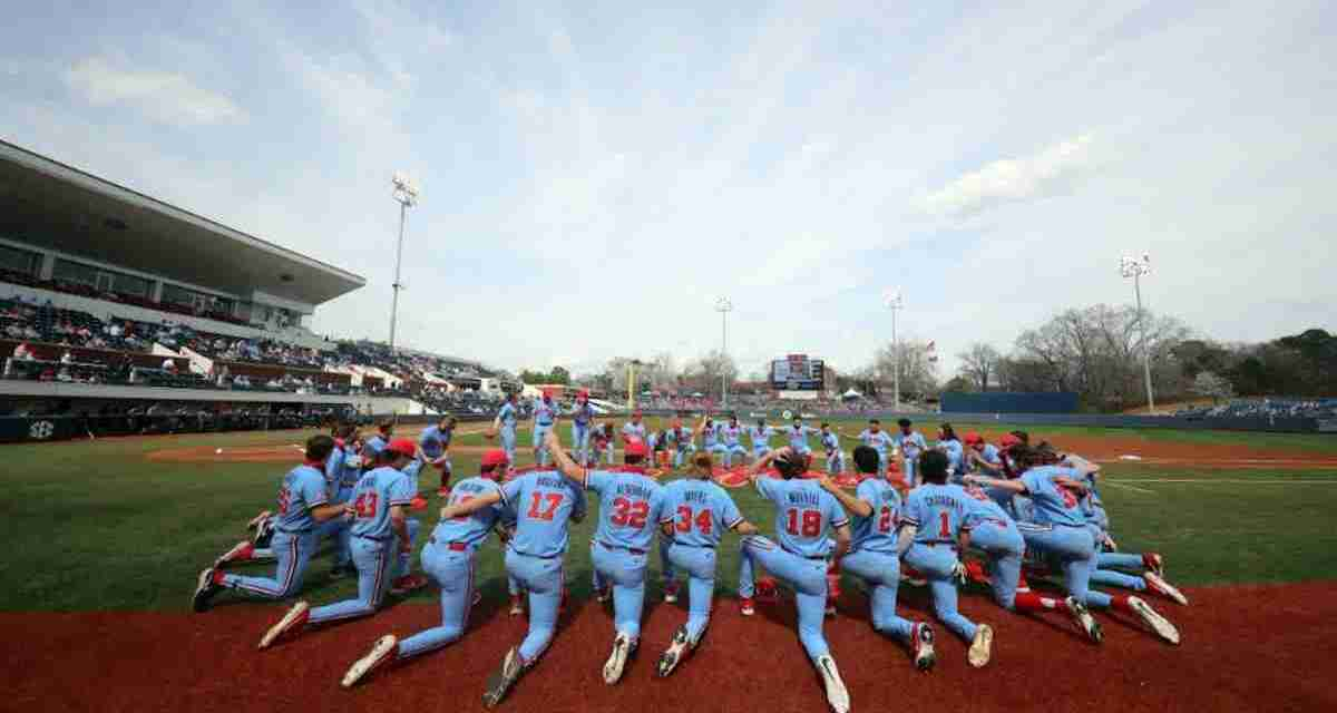 Conference Baseball is Back: Ole Miss Hosts Auburn at Swayze this Weekend