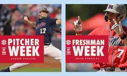 Hoglund, Gonzalez Earn SEC Weekly Honors