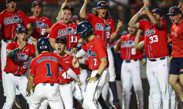 Doug Day in the Desert: Rebels defeat Arizona, 12-3, to force rubber game of Super Regional