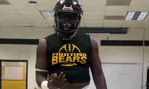 Offensive lineman Timi Gagophien commits to Ole Miss