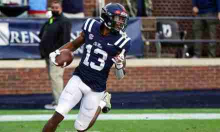 Ole Miss WR Braylon Sanders looking for big 2021 season, leading by example