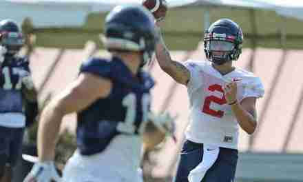 VIDEO: QB Matt Corral, OL Ben Brown, and RB Jerrion Ealy talk at Ole Miss Media Day