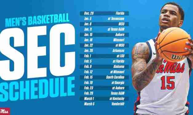 SEC Games Complete Men's Hoops Schedule