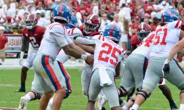 No. 17 Rebels ready to bounce back as showdown with No. 13 Arkansas up next