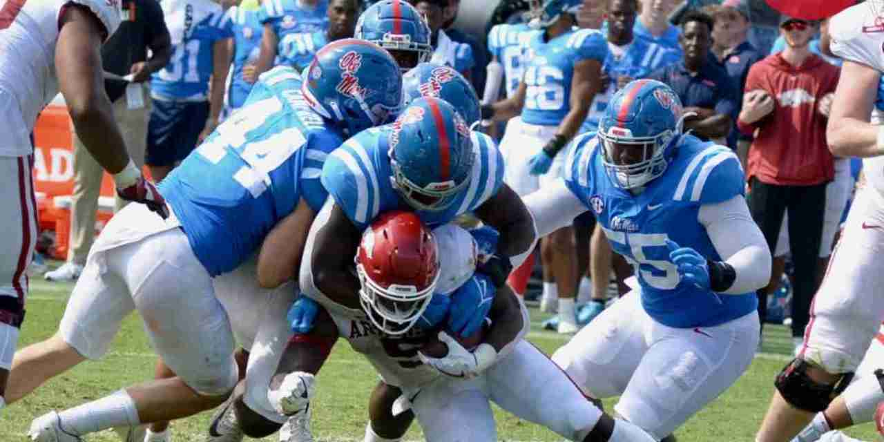 Ole Miss linebacker Chance Campbell discusses the Rebs' win over Arkansas