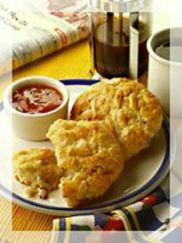 Almond Ginger Pear Scones - TheRecipe.Website
