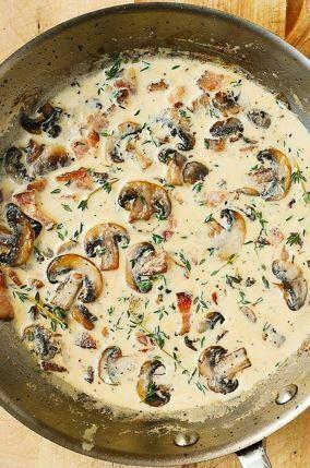 Three Way Fresh Mushroom Sauce - TheRecipe.Website