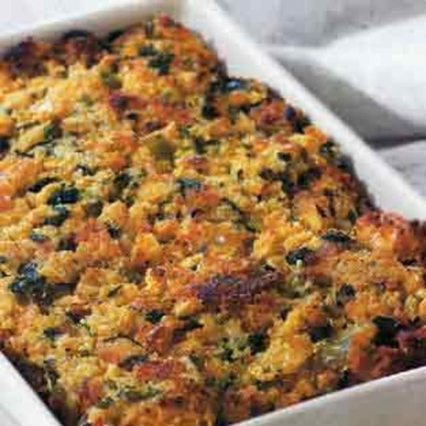 Green Onion and Cornbread Stuffing - TheRecipe.Website