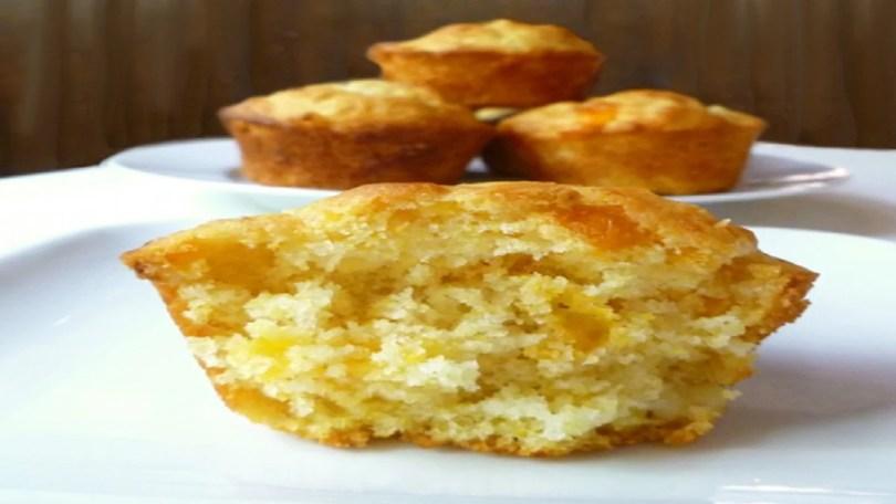 Corn, Cheddar and Sun Dried Tomato Muffins