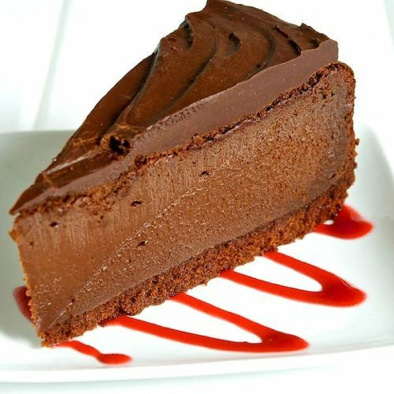 Divine Triple Chocolate Pie