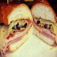 Nancy's Fabulous Muffaletta Sandwiches