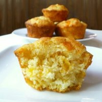 Cor Cheddar and Sun Dried Tomoato Muffins