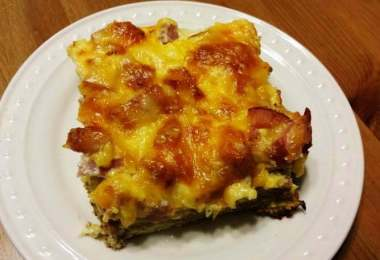 Ham and Egg Casserole recipe fron Father's Day