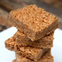 Peanut Butterscotch Crispies
