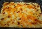 Corny Ham and Potato Scallop - TheRecipe.Website