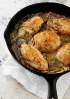 Tarragon Chicken and Mushroom Casserole