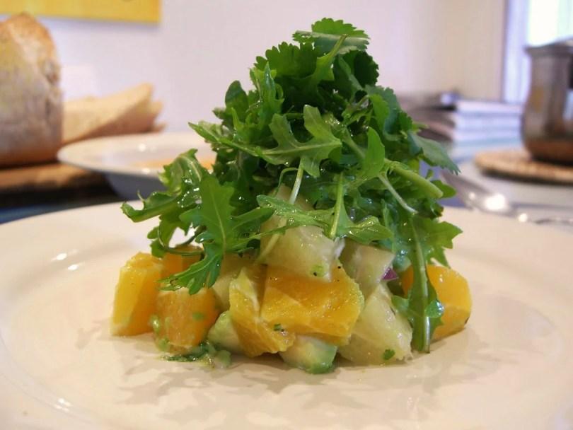 Avocado and Grapefruit Salad - onlinerecipe.club