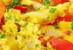 Greek Scrambled Eggs - TheRecipe.Website