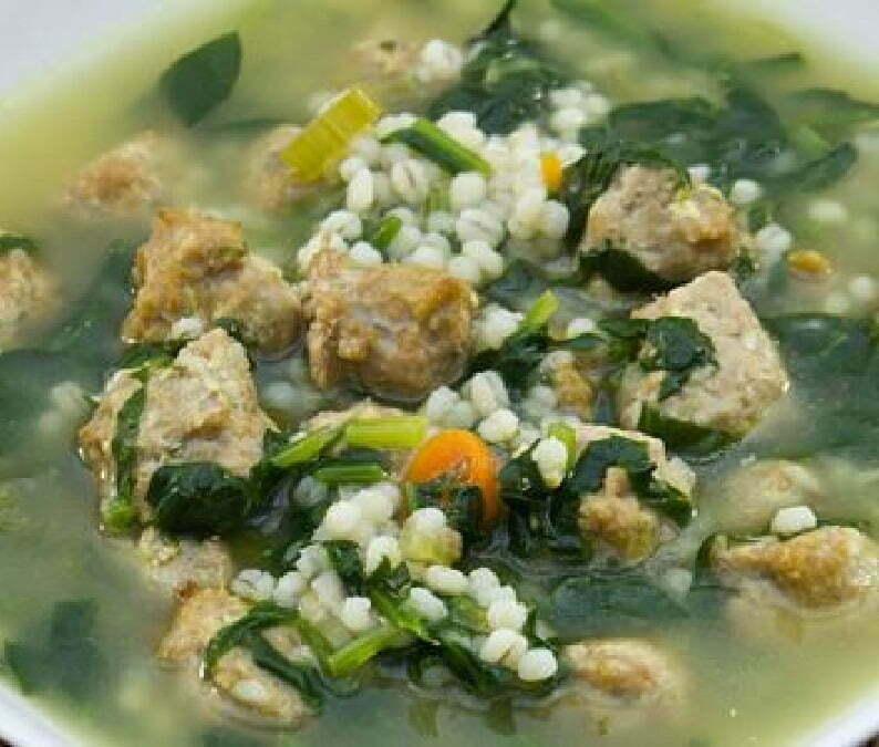 Italian Wedding Soup – Polpettine in Brodo - Onlinerecipe.website