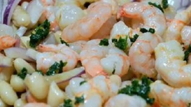 Shrimp with Beans - Gamberi e Fagioli