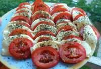 Tomato and Mozzarella Salad - Insalata Caprese - TheRecipe.Website