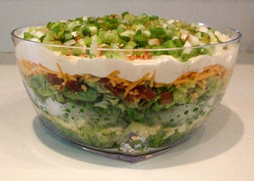 Layered Salad - Onlinerecipe.website