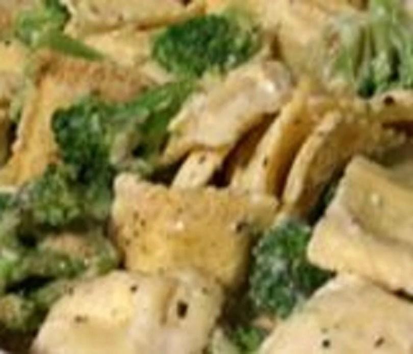 Ravioli and Broccoli Casserole