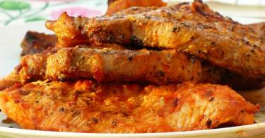 Grilled Tuna in Anchovy Sauce - TheRecipe.Website