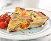 Sausage and Tomato Frittata - TheRecipe.Website