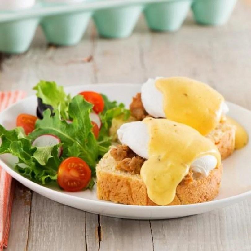 Eggs Benedict - Old School
