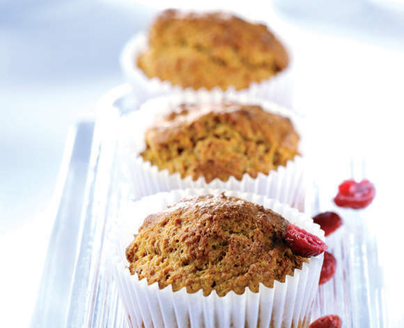 Carrot and Cranberry Muffins - TheRecipe.Website