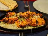 Grilled Curried Chicken