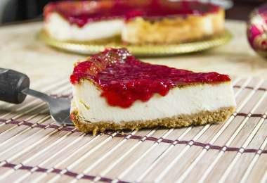 Strawberry Summer Cheesecake