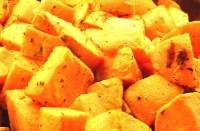 Roasted Sweet Potatoes with Vanilla