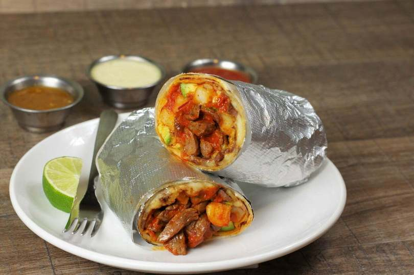 Easy Beef Burrito
