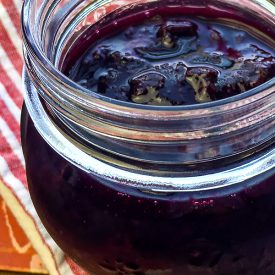 Instant Pot Blueberry Maple Compote