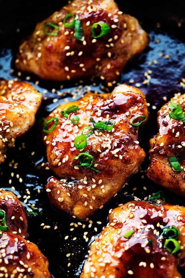 Sticky Asian Glazed Chicken | The Recipe Critic