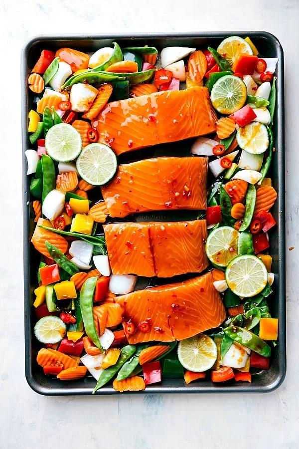 Salmon Cheesecake Thai Factory