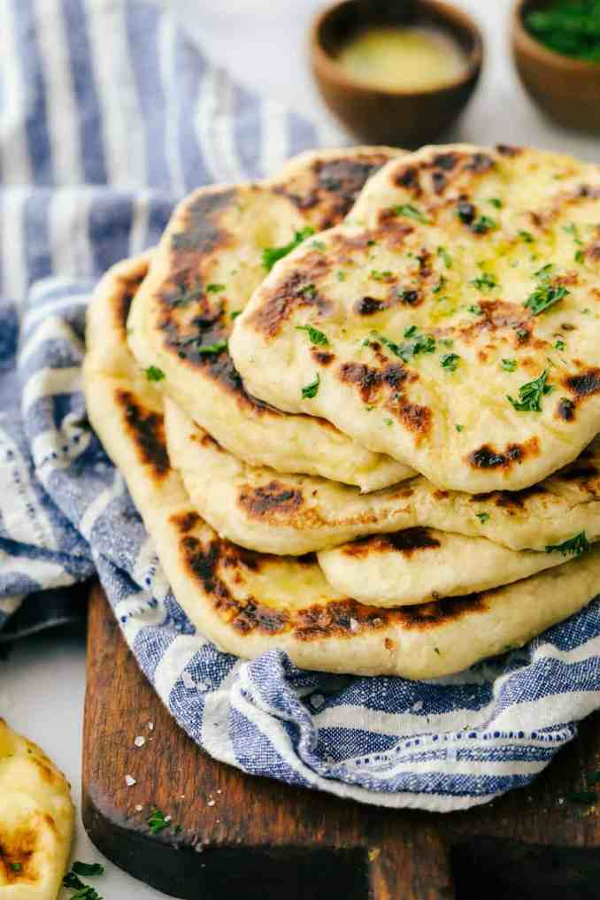 How to Make Easy Homemade Naan Bread Recipe | The Recipe
