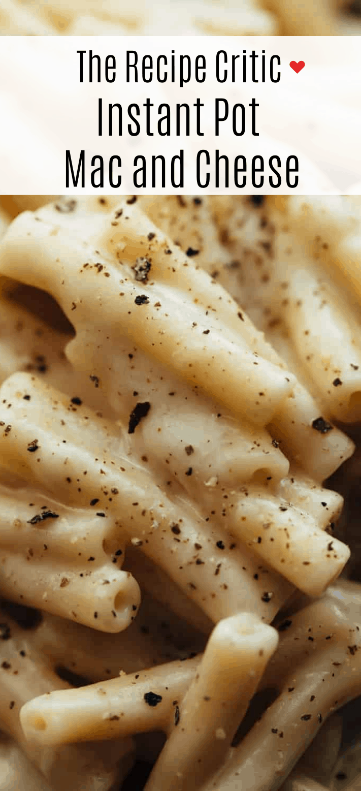 Easy Instant Pot Mac and Cheese Recipe