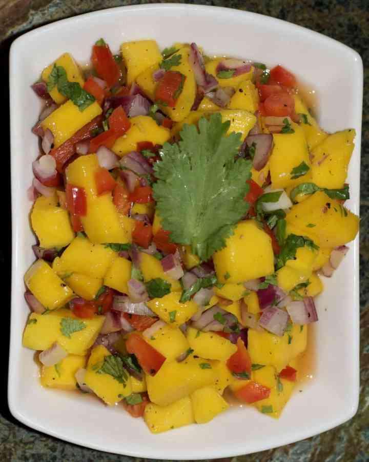 Spicy Mango Cilantro Salsa