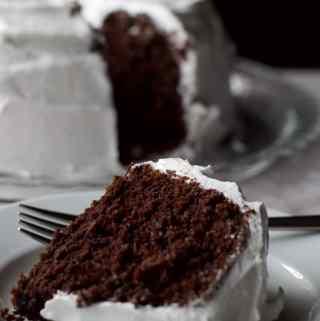 Five Minute Chocolate Cake
