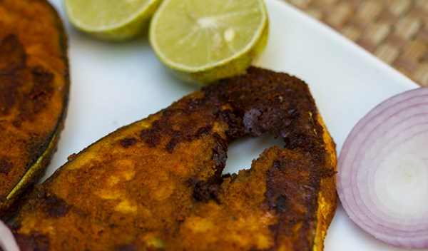 Yummy Indian Style masala fried fish