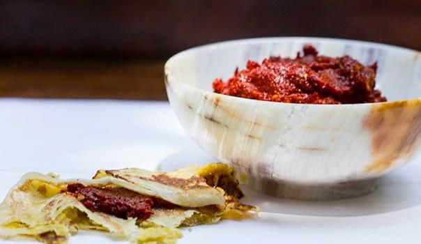Red Chilli Chutney – From Bangalore.