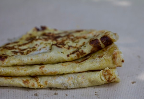 Stack Of Puran Poli